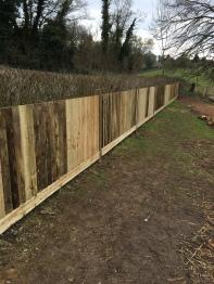 close-board fencing