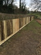 close-board fencing
